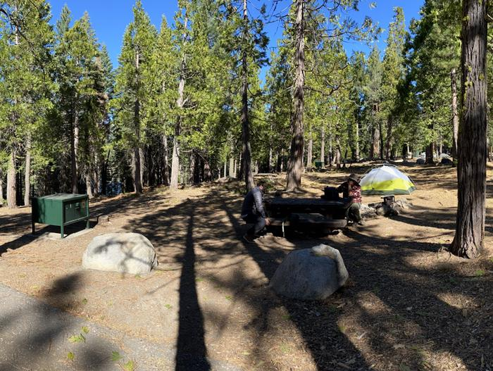 French Meadows Campground Campsite 41