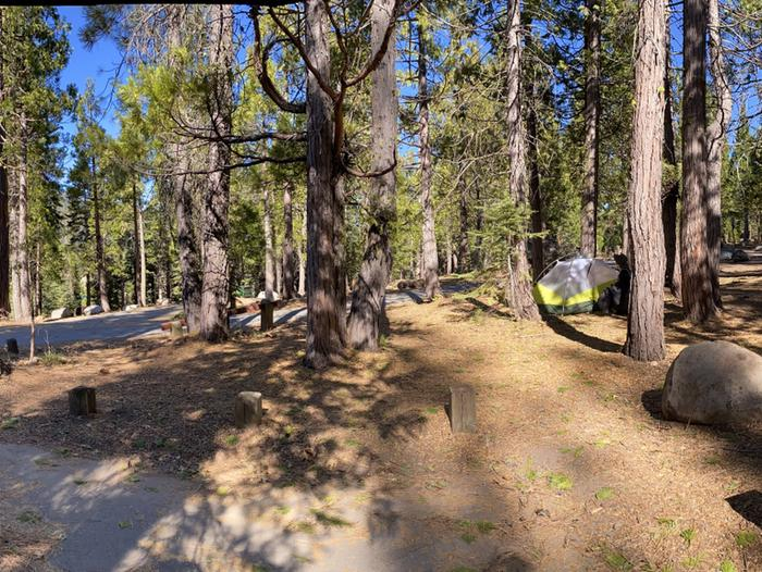 French Meadows CampgroundCampsite 42