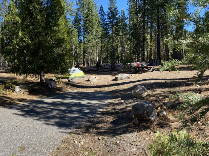French Meadows Campground Campsite 44