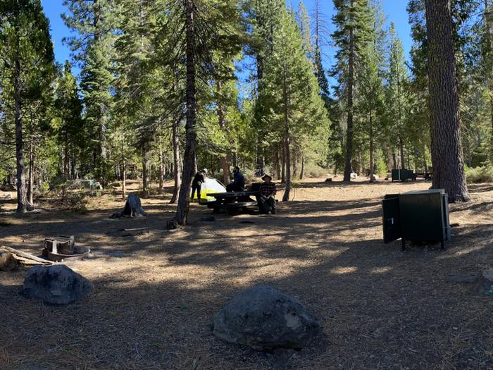 French Meadows Campground Campsite 46