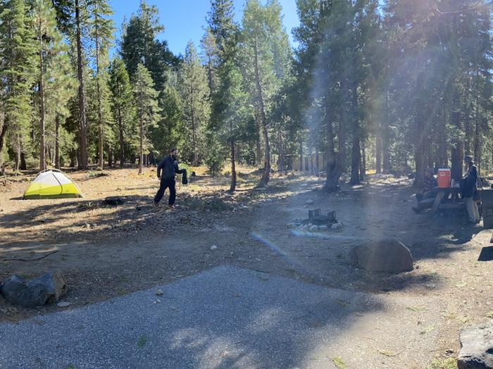 French Meadows Campground Campsite 47
