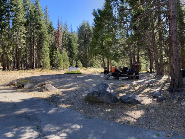 French Meadows Campground Campsite 48