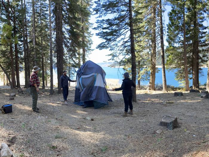 French Meadows Campground Campsite 49