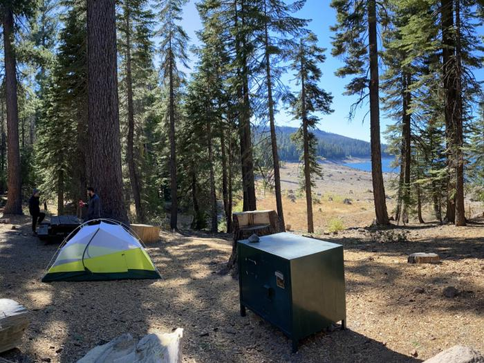 French Meadows Campground Campsite 51