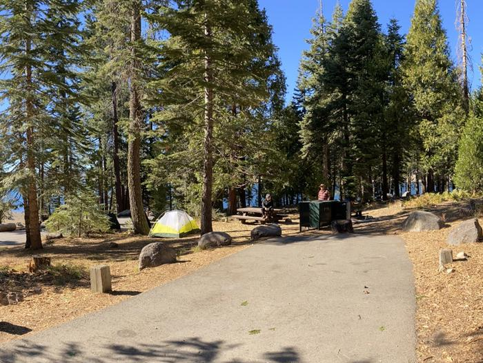 French Meadows Campground Campsite 53
