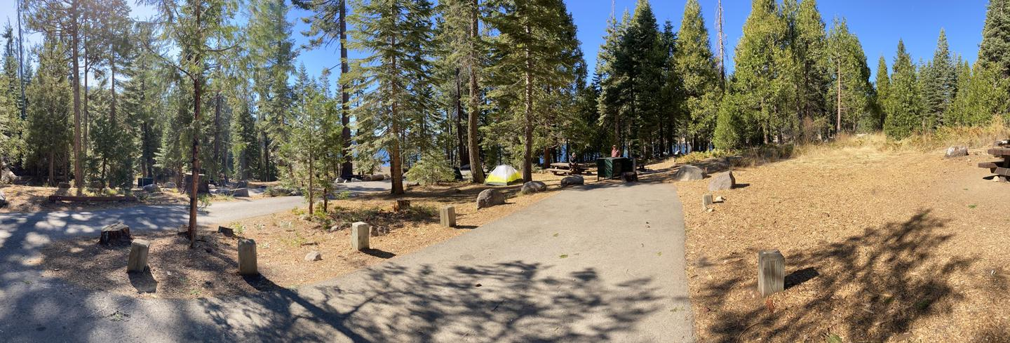 French Meadows Campsite 53