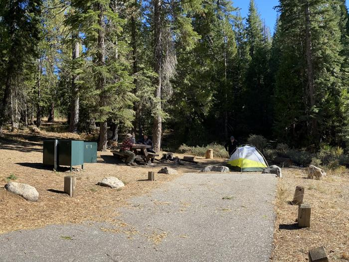 French Meadows Campground Campsite 54