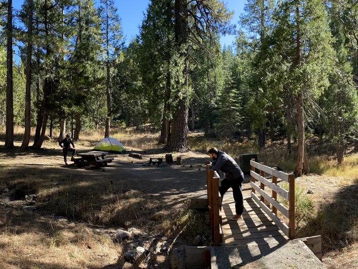 French Meadows Campground Campsite 56