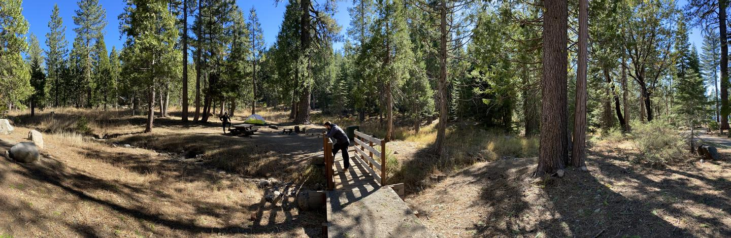 French Meadows Campsite 56