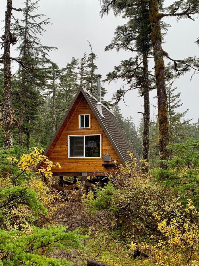 Goose Bay Cabin - BackBack of Cabin