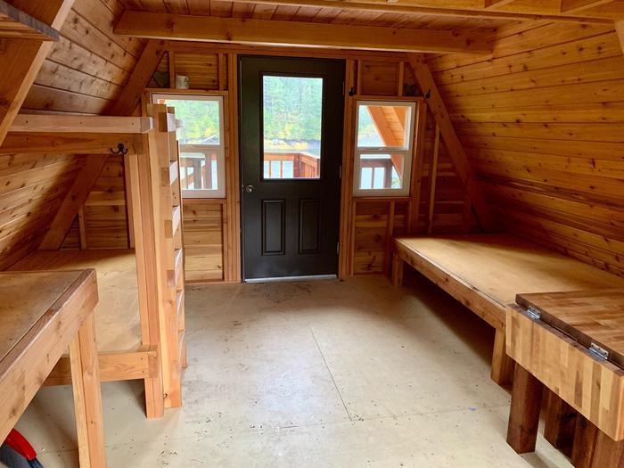 Goose Bay Cabin -- InteriorInterior Cabin.