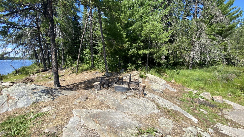 Campsite core areaB9 - Locator Lake backcountry campsite