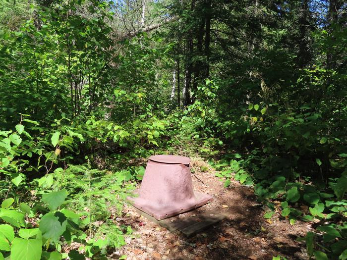 PrivyB9 - Locator Lake backcountry campsite