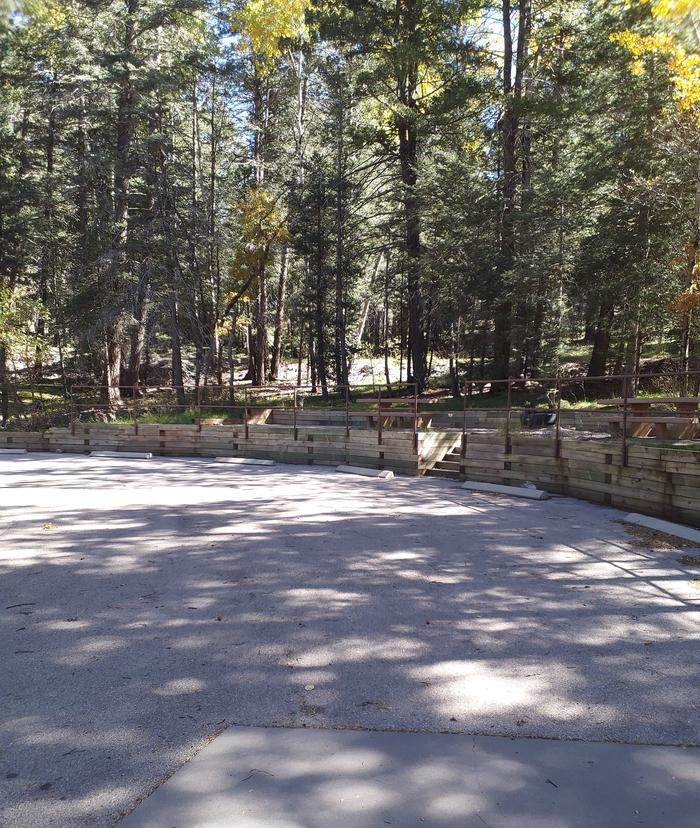 ASPEN Group Campground Multiple Paved Parking Spaces
