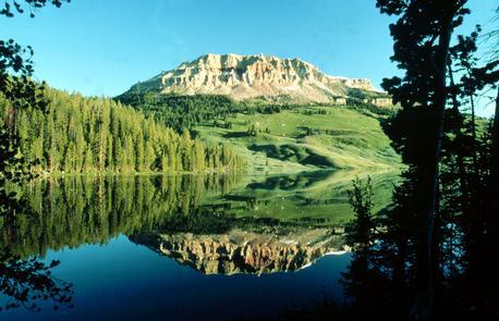 Beartooth Butte Reflection