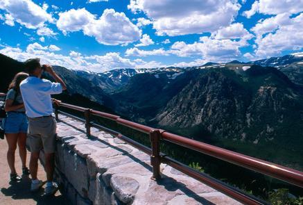 Rock Creek Vista Point Overlook, Montana