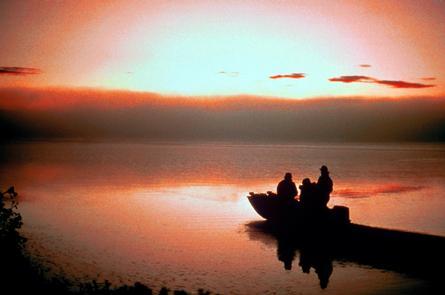 Sunset on Tule Lake