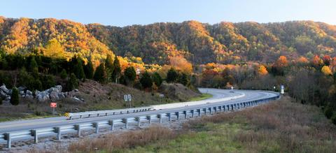 The East Tennessee Crossing Meeting Clinch Mountain