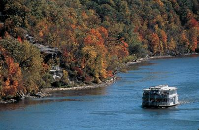 Riverboat on the Great River Road
