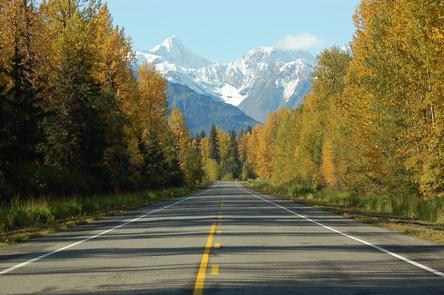 Haines Highway--Valley of the Eagles