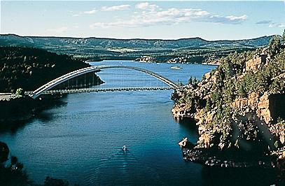 Bridge Spanning the Gorge
