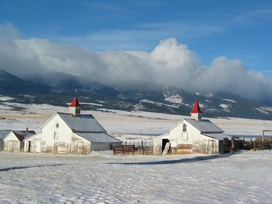 Beckwith Ranch in Winter