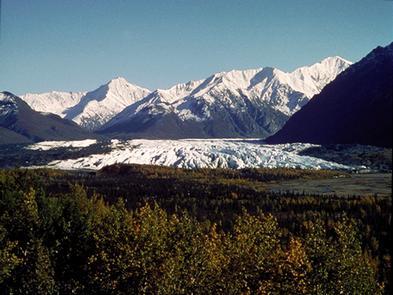 Alaska's Matanuska Glacier
