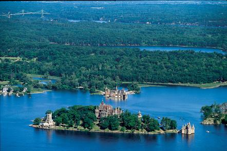 Boldt Castle and the 1000 Islands