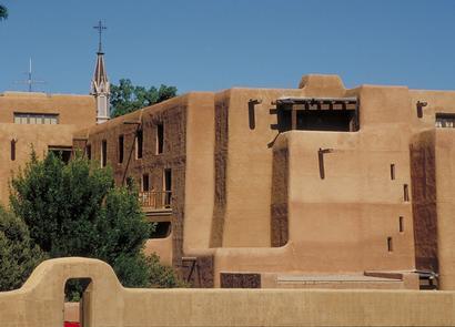Pueblo-style Architecture in Santa Fe