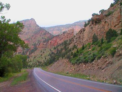 Driving through Colorful Canyons on the Energy Loop