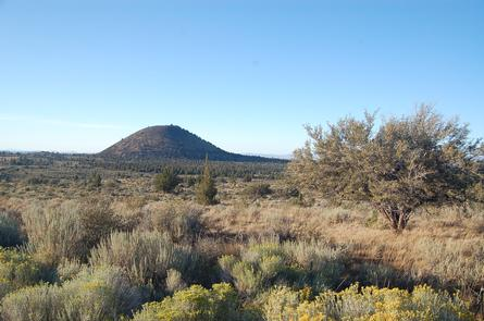 Schonchin Butte in Lava Beds National Monument