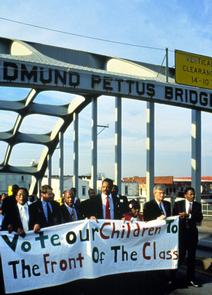 Crossing Edmund Pettus Bridge