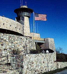 Brasstown Visitor Center and Observation Deck