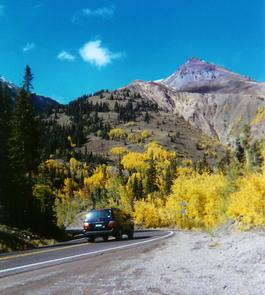 Autumn on the Red Mountain Pass