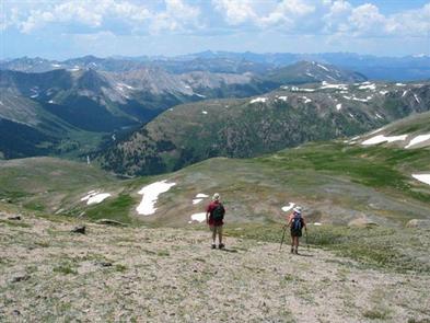 Hiking Top of the Rockies