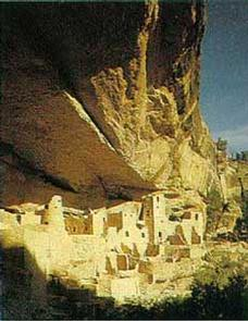 Ancient Structures at Mesa Verde National Park