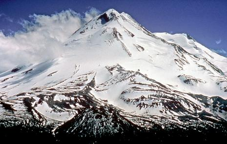 Snow-Capped Mount Shasta
