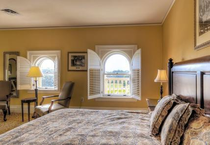 GuestroomThere are 157 guestrooms and suites at the Jekyll Island Club Hotel in five distinct historic settings.