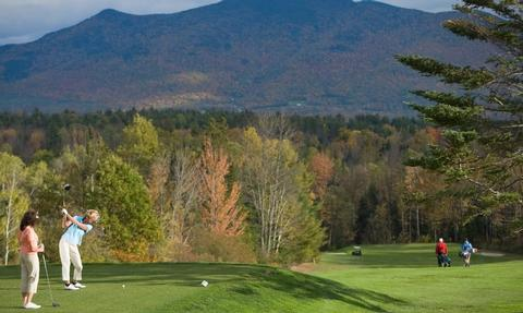 The Historic Golf Course Located only steps from the main entrance of the resort, the Mountain View Grand Golf Course has recently been voted one of the best courses in New England by famed Links magazine.