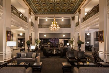 History Inside and OutIn addition to the stylish and historic setting inside the Lord Baltimore, the location of this hotel puts guests steps away from popular attractions such as Camden Yards, the Baltimore Aquarium and the Inner Harbor.
