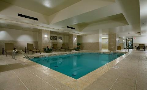 State of the Art SwimmingThis swimming pool at the Skirvin Hilton is available to all guests and is one of several health related amenities.