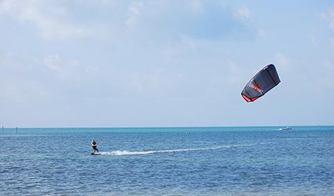 Kite Surfing in the Florida Keys