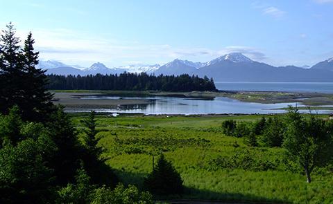 Beluga Slough in Kachemak Bay National Estuarine Research Reserve, Alaska