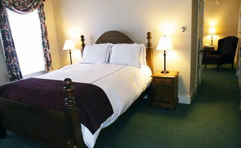 Historic HospitalityEach of the 96 guest rooms feature stunning views of the New England countryside and charming historic details.
