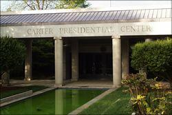 Entrance to the Carter Presidential Library