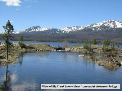 Big Creek Lakes Dam Outlet Photo 1