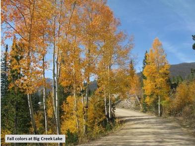 Big Creek Lakes Fall Colors Photo 1