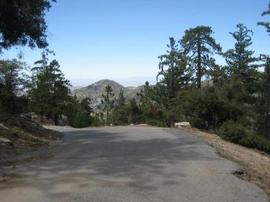 Marion Mountain Campground road