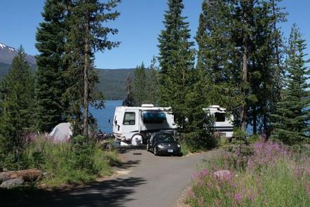 Diamond Lake Campground, Umpqua National Forest, OregonDiamond Lake Campground