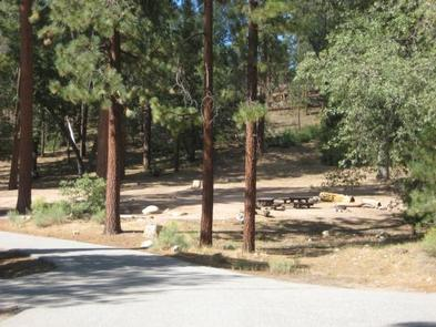 Barton Flats Campground Picnic Tables